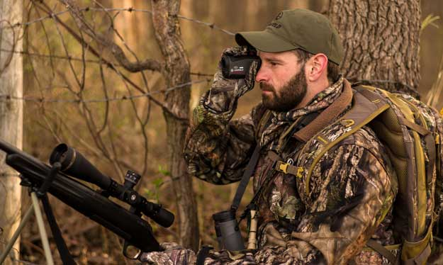 hunting using a rangefinder