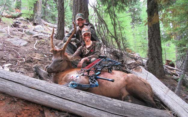 krissy knox with spike elk