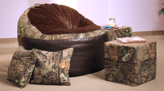 Mossy Oak® Nativ Living™ And Big Tree Furniture Have Partnered To Offer  Camo Futons, Foam Filled Chairs And Accent Pillows In Break Up Country®, ...