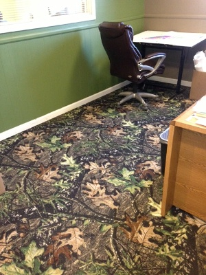 Cover Your Floor With Mossy Oak Camo Carpet Mossy Oak - How to cover carpet with flooring