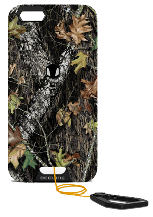 uk availability c9beb a69f8 Secure your iPhone with Retractable Beeline Cases in Mossy Oak ...