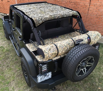 JeepTopsUSA Provides Custom Mossy Oak Tops for Jeep Wranglers ...