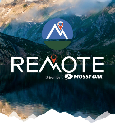 Mossy Oak Remote Apparel. Built to get you there.