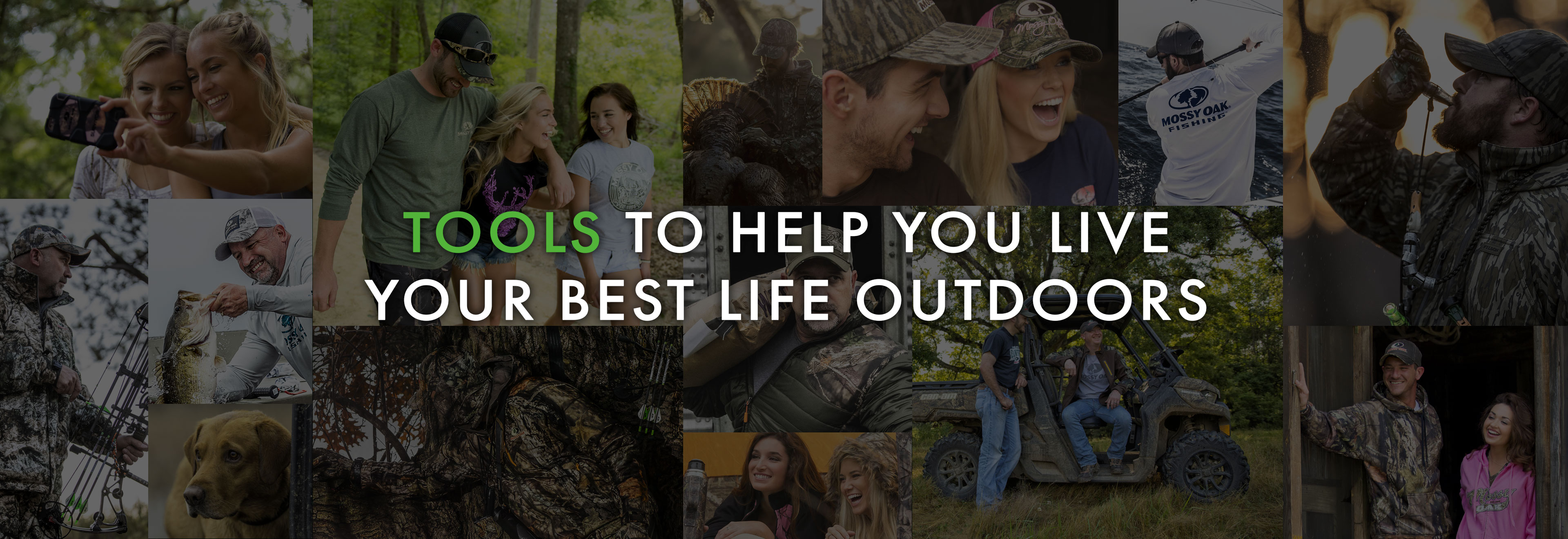 Tools to help you live your best life outdoors.